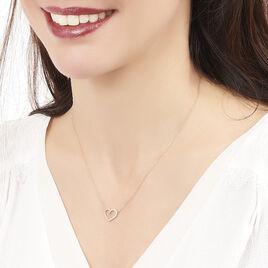 Collier Ravenna Or Jaune Diamant - Colliers Coeur Femme | Histoire d'Or
