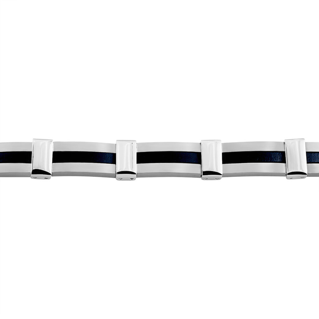 Bracelet Rene Acier Blanc - Bracelets fantaisie Homme | Histoire d'Or