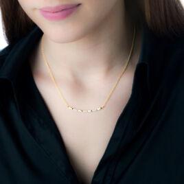 Collier Bagan Or Jaune Diamant - Bijoux Femme | Histoire d'Or