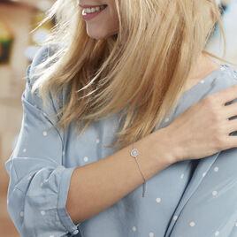 Bracelet Brunilda Argent Blanc Oxyde De Zirconium - Bracelets fantaisie Femme | Histoire d'Or