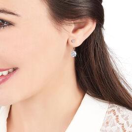 Bijoux D'oreilles Argent Oxyde - Boucles d'oreilles fantaisie Femme | Histoire d'Or