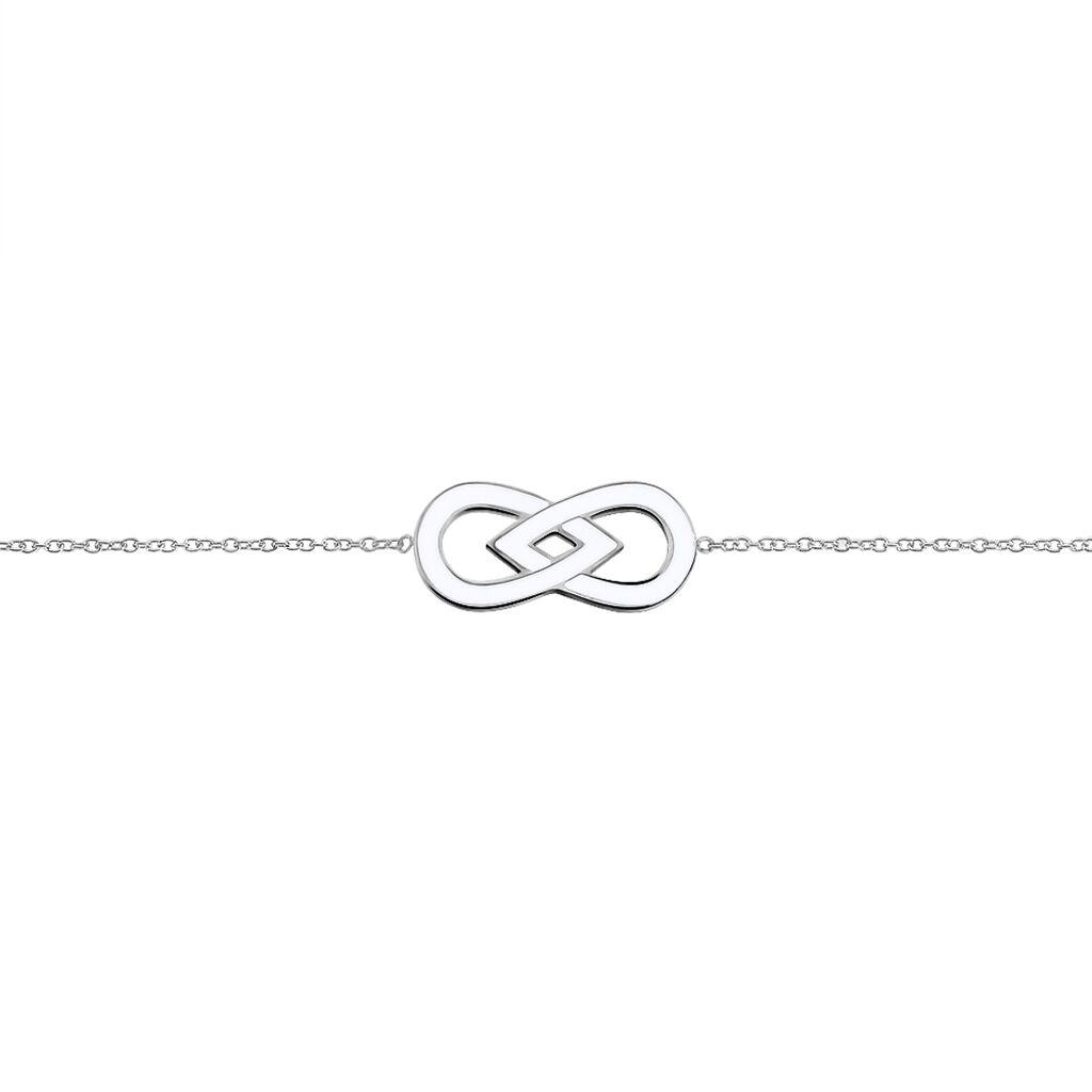 Bracelet Sanna Acier Blanc - Bracelets Infini Femme | Histoire d'Or
