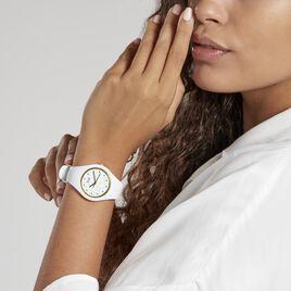 Montre Ice Watch Flower Blanc - Montres Femme   Histoire d'Or