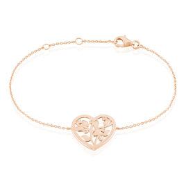 Bracelet Douglas Argent Rose Oxyde De Zirconium - Bracelets Arbre de vie Femme | Histoire d'Or