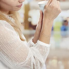 Bracelet Bulle Argent Blanc - Bracelets fantaisie Femme | Histoire d'Or