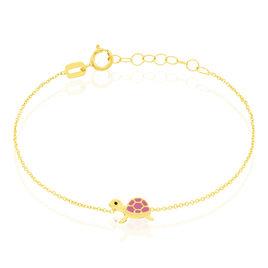 Bracelet Cali Tortue Or Jaune - Bracelets Naissance Enfant | Histoire d'Or