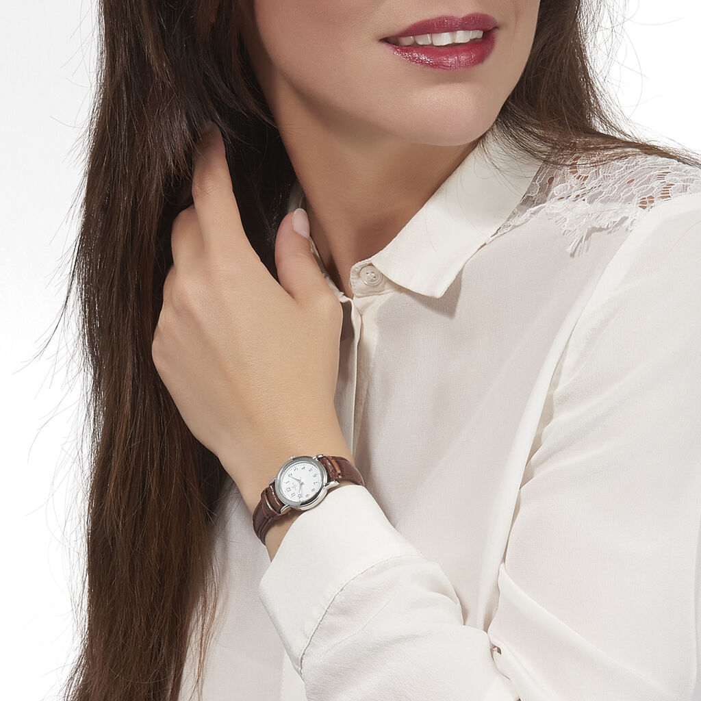 Montre Codhor Veronique Blanc - Montres Femme | Histoire d'Or