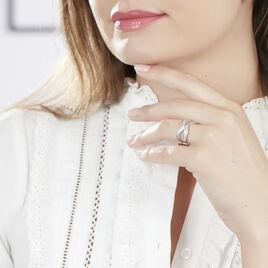 Bague Rym Or Blanc Diamant - Bagues avec pierre Femme | Histoire d'Or