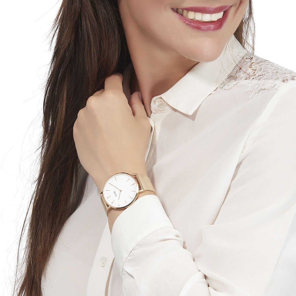 Montre Cluse La Boheme Blanc - Montres tendances Femme   Histoire d'Or