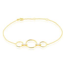 Bracelet Andrina Or Jaune Diamant - Bijoux Femme   Histoire d'Or
