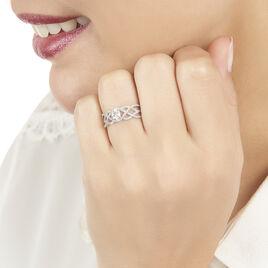 Bague Solitaire Kendra Or Blanc Diamant - Bagues avec pierre Femme | Histoire d'Or