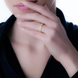 Bague Zorah Or Jaune Diamant - Bagues avec pierre Femme   Histoire d'Or