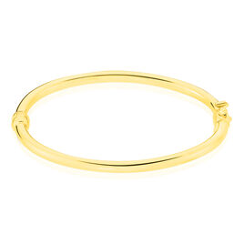 Bracelet Jonc Ida Or Jaune - Bracelets Naissance Enfant   Histoire d'Or