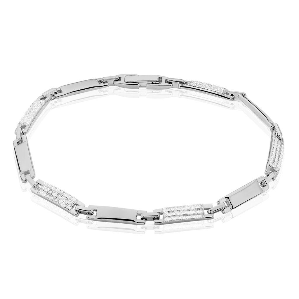 Bracelet Celina Argent Blanc Oxyde De Zirconium - Bijoux Femme | Histoire d'Or