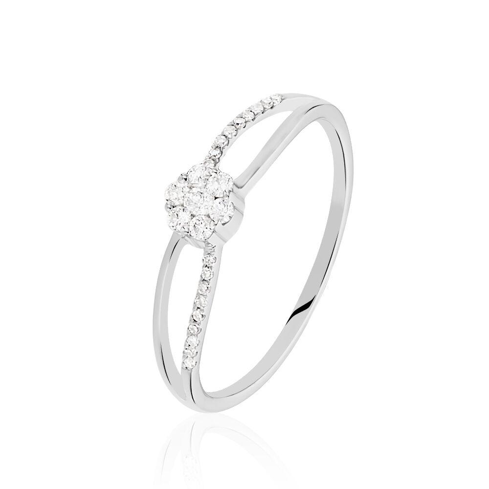 Bague Solitaire Odenia Or Blanc Diamant de modèles