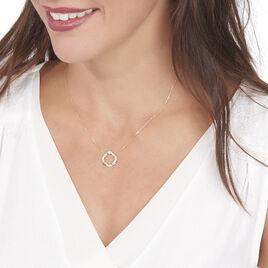 Collier Vincenzina Or Jaune Diamant - Bijoux Femme   Histoire d'Or