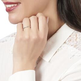 Bague Solitaire Ivanka Or Blanc Diamant - Bagues solitaires Femme | Histoire d'Or