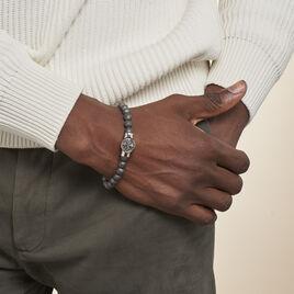 Bracelet Lisanne Acier Blanc - Bracelets fantaisie Homme | Histoire d'Or