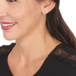 Bijoux D'oreilles Albanne Or Jaune Oxyde De Zirconium - Ear cuffs Femme   Histoire d'Or