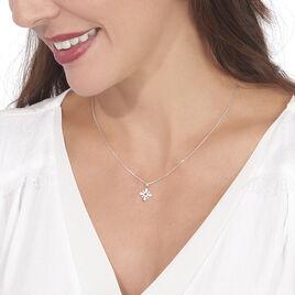 Collier Anea Or Blanc Diamant - Bijoux Femme | Histoire d'Or