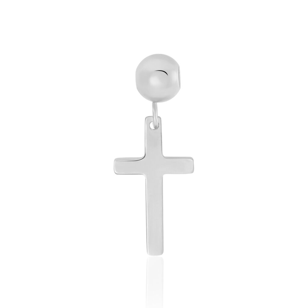 Charms Licinia Or Blanc - Pendentifs Croix Femme | Histoire d'Or