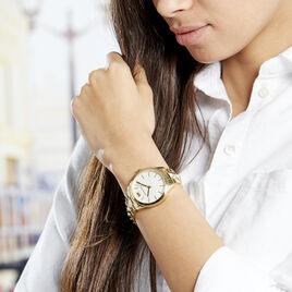 Montre Michael Kors Runway Blanc - Montres tendances Femme | Histoire d'Or