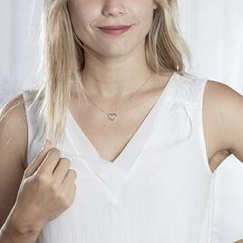 Collier  Argent Rhodié Gyoso - Colliers Coeur Femme | Histoire d'Or