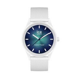 Montre Ice Watch Solar Power Blanc - Montres tendances Famille   Histoire d'Or