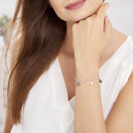Bracelet Salomee Argent Blanc Perle De Culture - Bracelets fantaisie Femme | Histoire d'Or