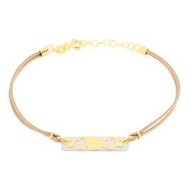 Bracelet Faridha Or Jaune Nacre - Bracelets Coeur Femme | Histoire d'Or
