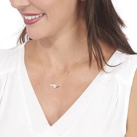 Collier Catena Or Bicolore Diamant - Bijoux Femme   Histoire d'Or