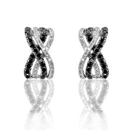 Boucles D'oreilles Puces Julianne Or Blanc Diamant - Clous d'oreilles Femme   Histoire d'Or