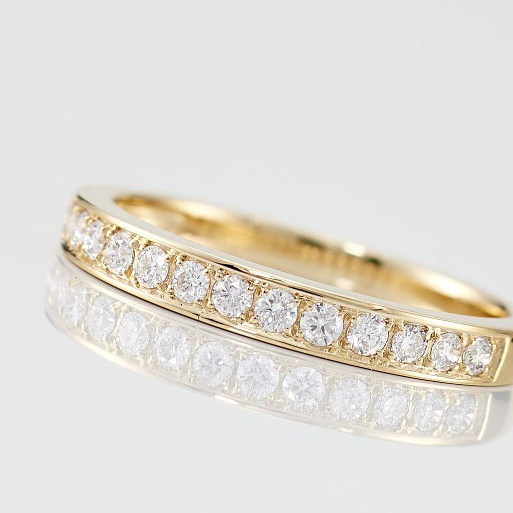 Demi-alliance Or Jaune Collection Juliette - Alliances Femme | Histoire d'Or