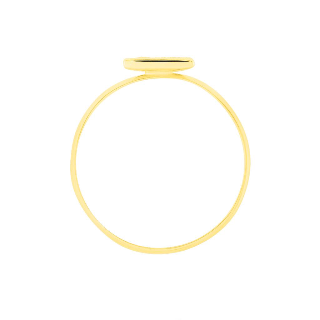 Bague Yora Or Jaune - Bagues Femme | Histoire d'Or