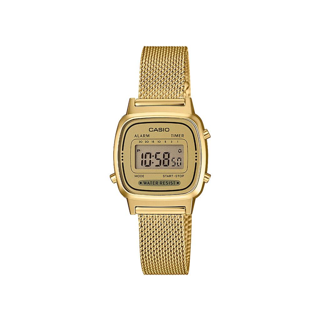 Montre Casio Collection Vintage 2 Tons - Montres sport Femme | Histoire d'Or