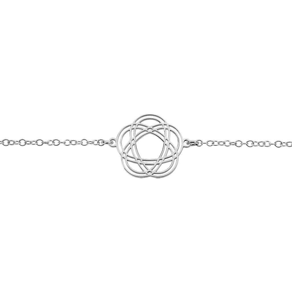 Bracelet Constellation Argent Blanc - Bracelets fantaisie Femme   Histoire d'Or
