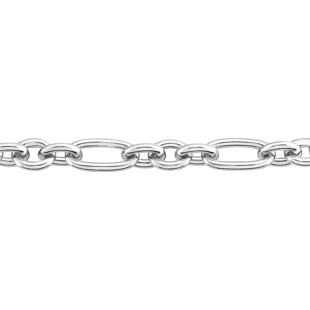 Bracelet Camiorica Argent Blanc - Bracelets chaîne Femme   Histoire d'Or