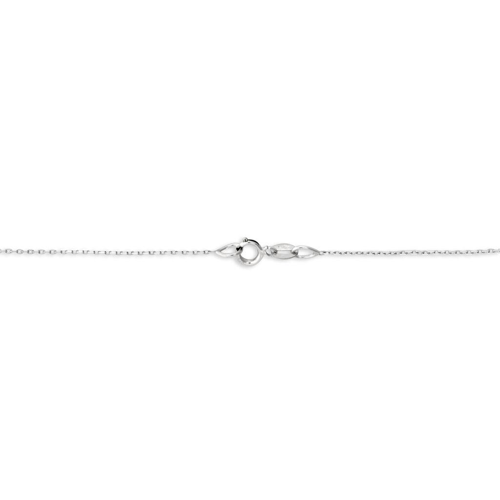 Collier Osanna Or Blanc Diamant - Colliers Infini Femme | Histoire d'Or