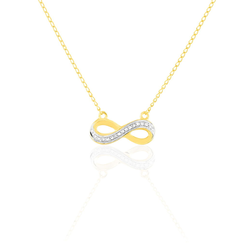 Collier Chacha Or Jaune Diamant - Colliers Infini Femme   Histoire d'Or