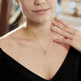 Collier Agostina Or Jaune Oxyde De Zirconium - Bijoux Femme | Histoire d'Or