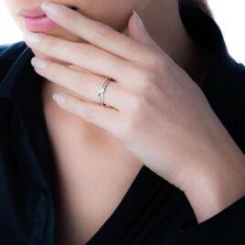 Bague Solitaire Odenia Or Blanc Diamant - Bagues solitaires Femme   Histoire d'Or