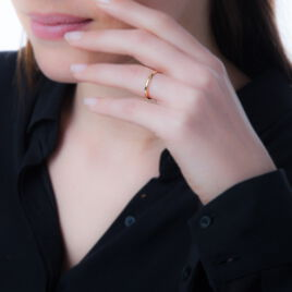 Bague Lena-lou Plaque Or Jaune - Bagues fantaisie Femme | Histoire d'Or