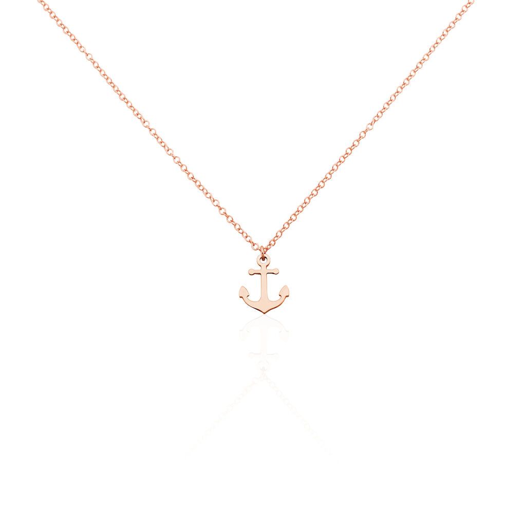 Collier Argent Rose Sacha