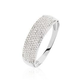 Bague Charlotte Or Blanc Diamant Divers - Bagues avec pierre Femme | Histoire d'Or