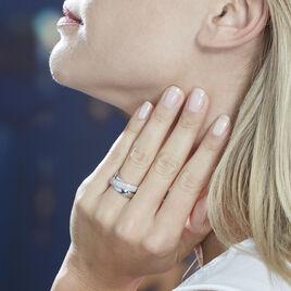 Bague Annoncia Or Blanc Diamant - Bagues avec pierre Femme | Histoire d'Or