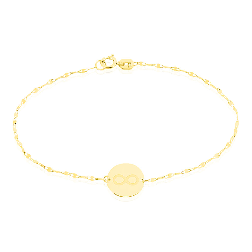 Bracelet Elynna Infini Or Jaune - Bracelets Infini Femme | Histoire d'Or