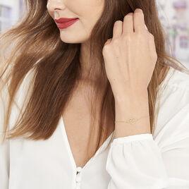 Bracelet Kais Or Jaune - Bijoux Femme | Histoire d'Or