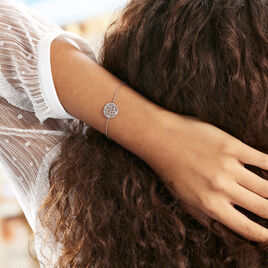 Bracelet Setti Argent Blanc - Bracelets fantaisie Femme | Histoire d'Or
