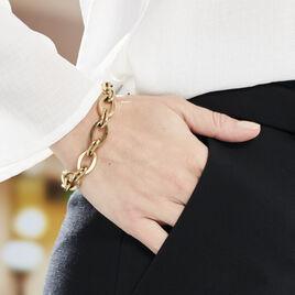 Bracelet Yupiti Acier Jaune - Bracelets fantaisie Femme | Histoire d'Or