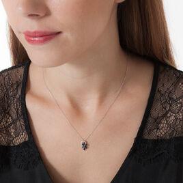Collier Bouquet Or Blanc Saphir Diamant - Bijoux Femme | Histoire d'Or